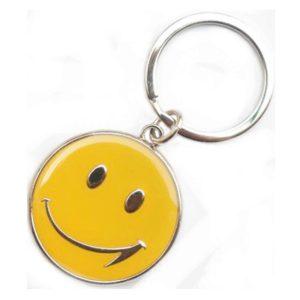 Smiley kulcstartó